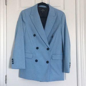 SFW Blue oversized blazer - size S (NWT)